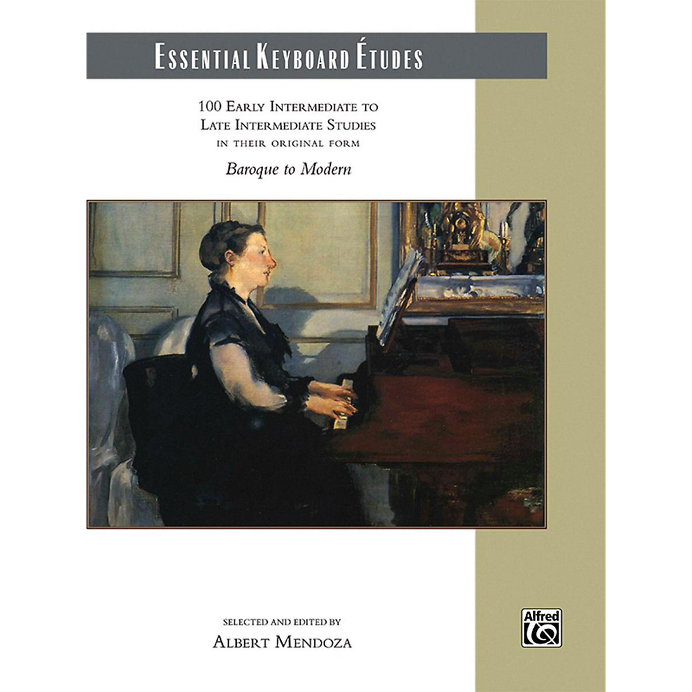 Alfred Essential Keyboard Etudes Comb Bound Book Early Intermediate to Late Intermediate thumbnail