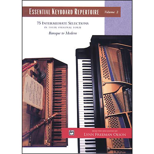 Alfred Essential Keyboard Repertoire Volume 2 thumbnail