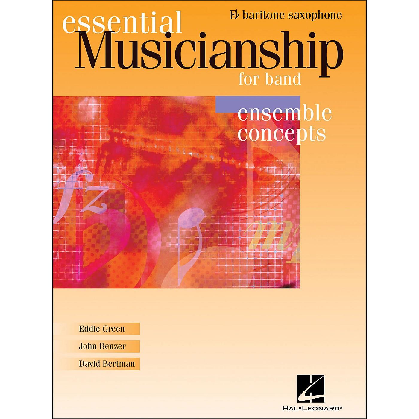 Hal Leonard Essential Musicianship for Band - Ensemble Concepts Baritone Saxophone thumbnail