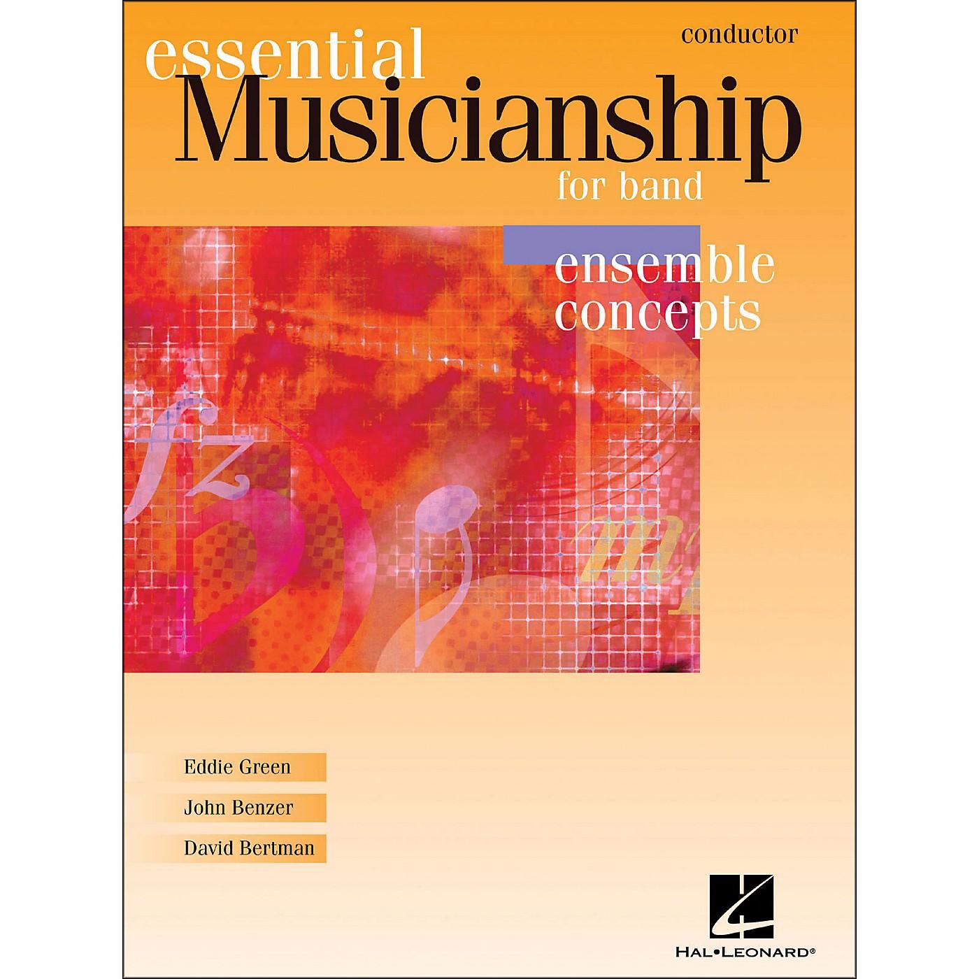 Hal Leonard Essential Musicianship for Band - Ensemble Concepts Conductor thumbnail