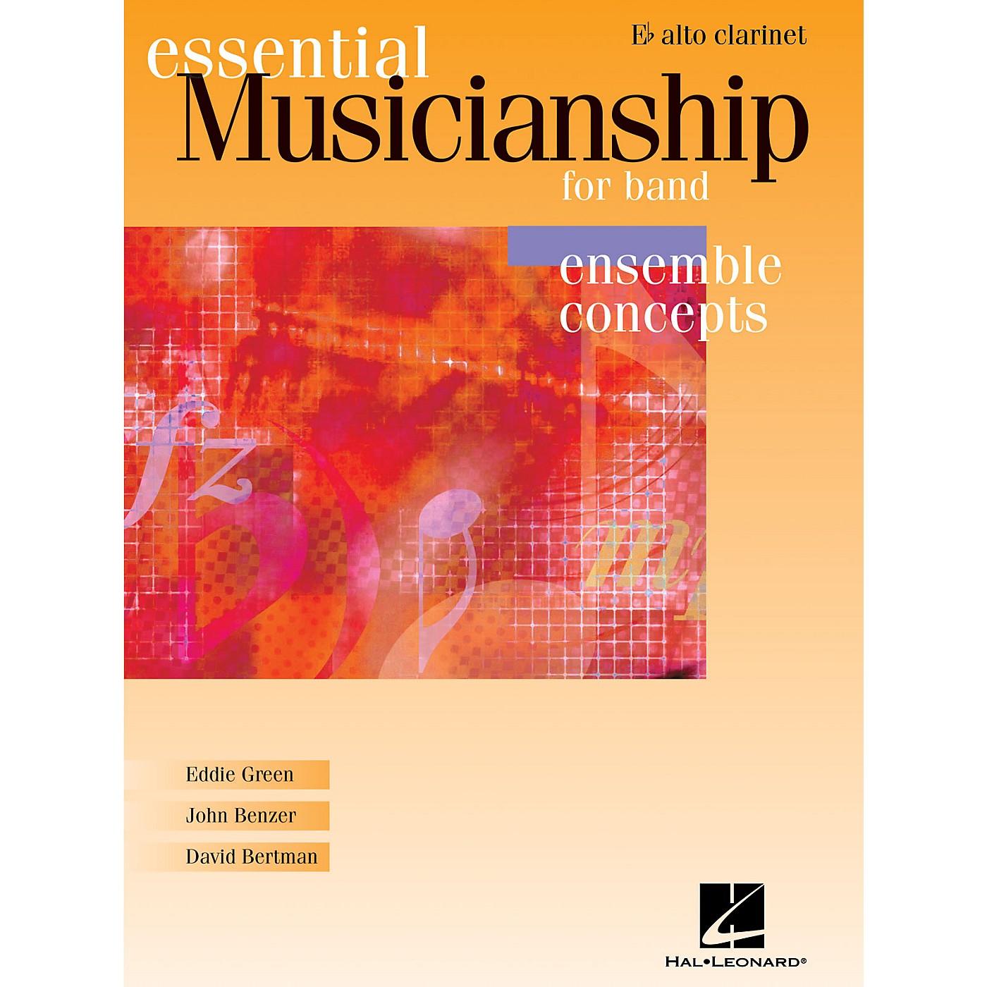 Hal Leonard Essential Musicianship for Band - Ensemble Concepts (Eb Alto Clarinet) Concert Band thumbnail