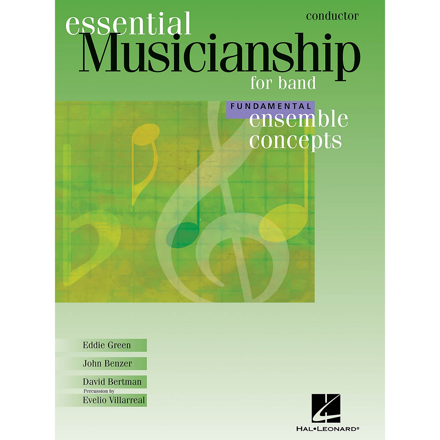 Hal Leonard Essential Musicianship for Band - Ensemble Concepts (Fundamental Level - Conductor) Concert Band thumbnail
