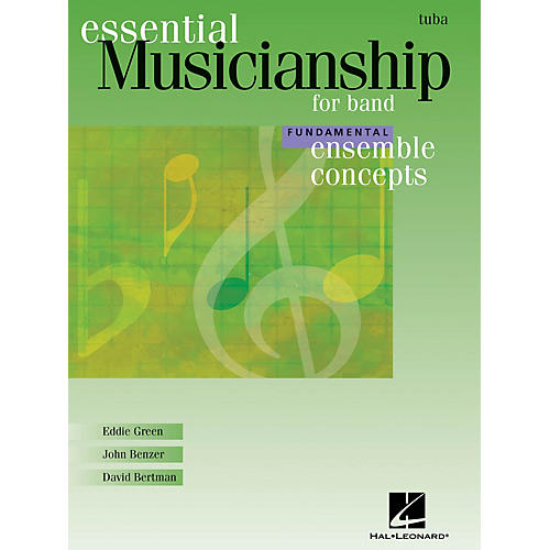 Hal Leonard Essential Musicianship for Band - Ensemble Concepts (Fundamental Level - Tuba) Concert Band thumbnail
