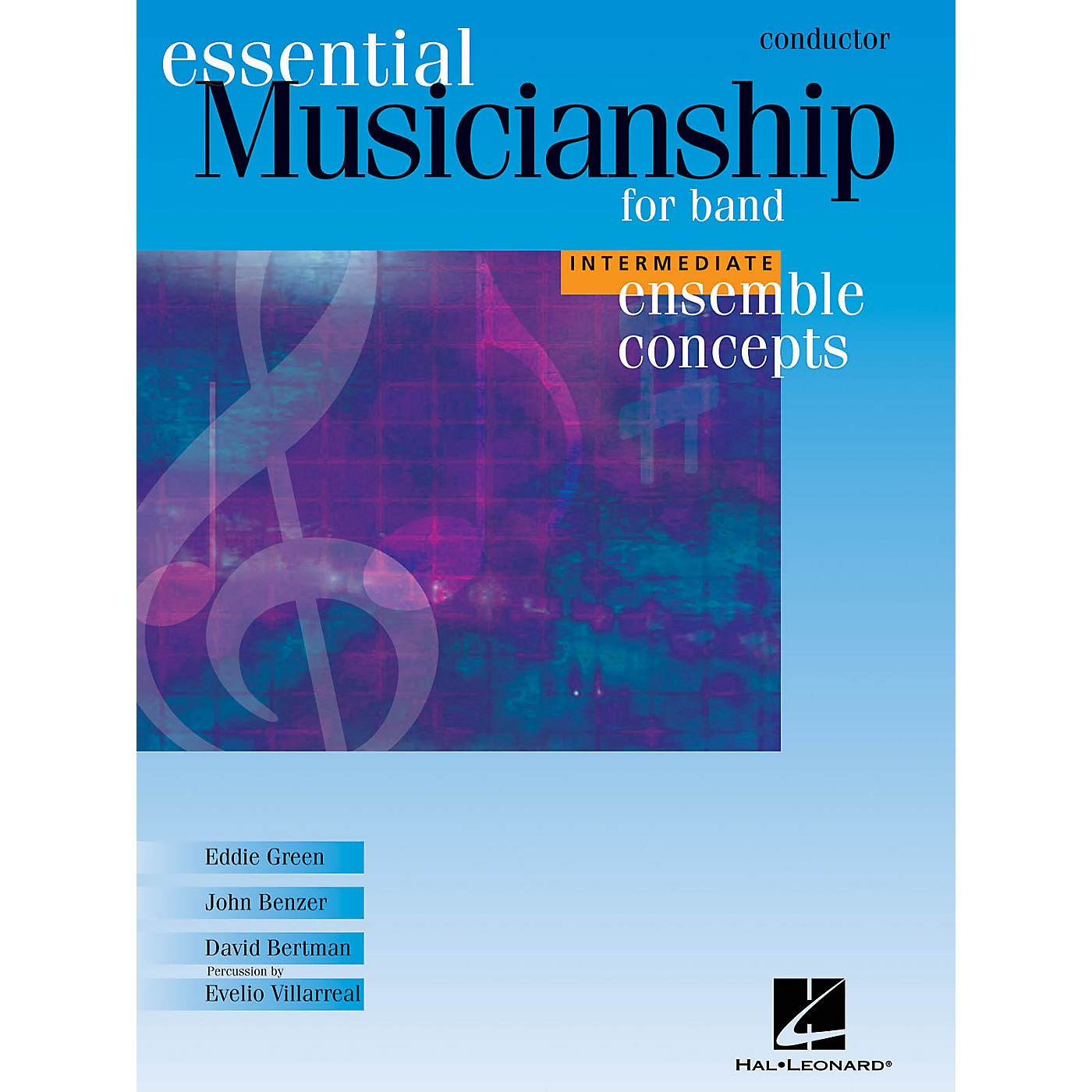 Hal Leonard Essential Musicianship for Band - Ensemble Concepts (Intermediate Level - Conductor) Concert Band thumbnail