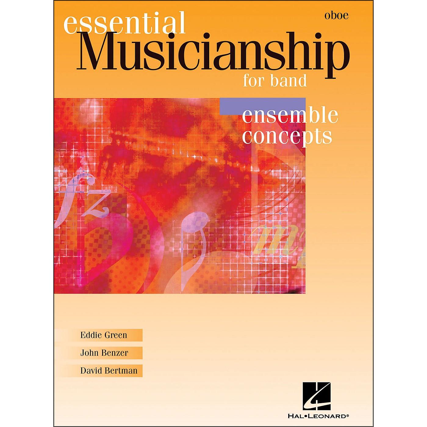 Hal Leonard Essential Musicianship for Band - Ensemble Concepts Oboe thumbnail