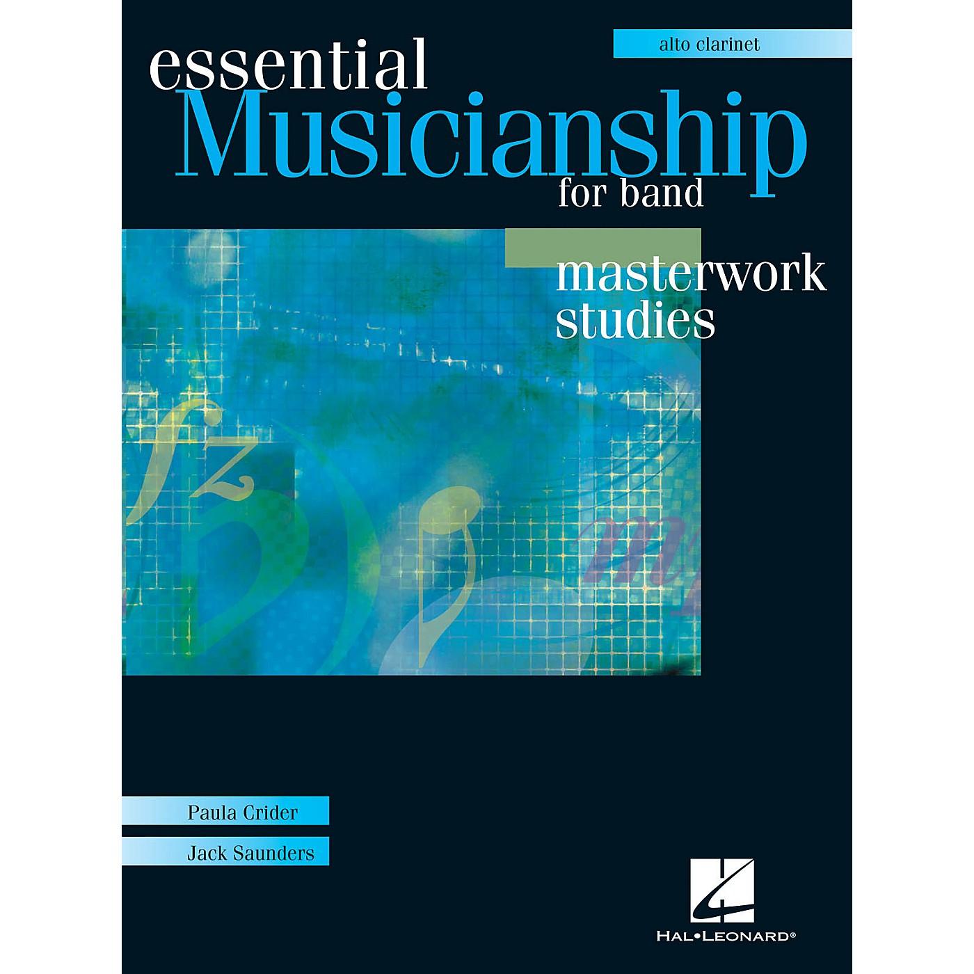 Hal Leonard Essential Musicianship for Band - Masterwork Studies (Alto Clarinet) Concert Band thumbnail