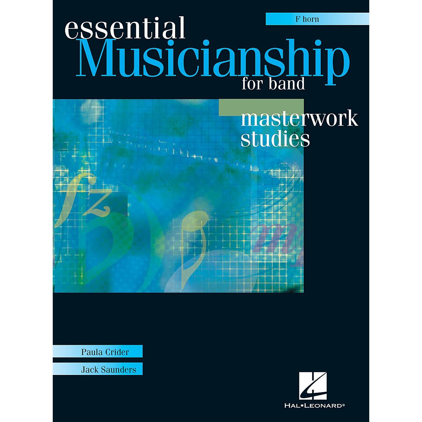 Hal Leonard Essential Musicianship for Band - Masterwork Studies (F Horn) Concert Band thumbnail