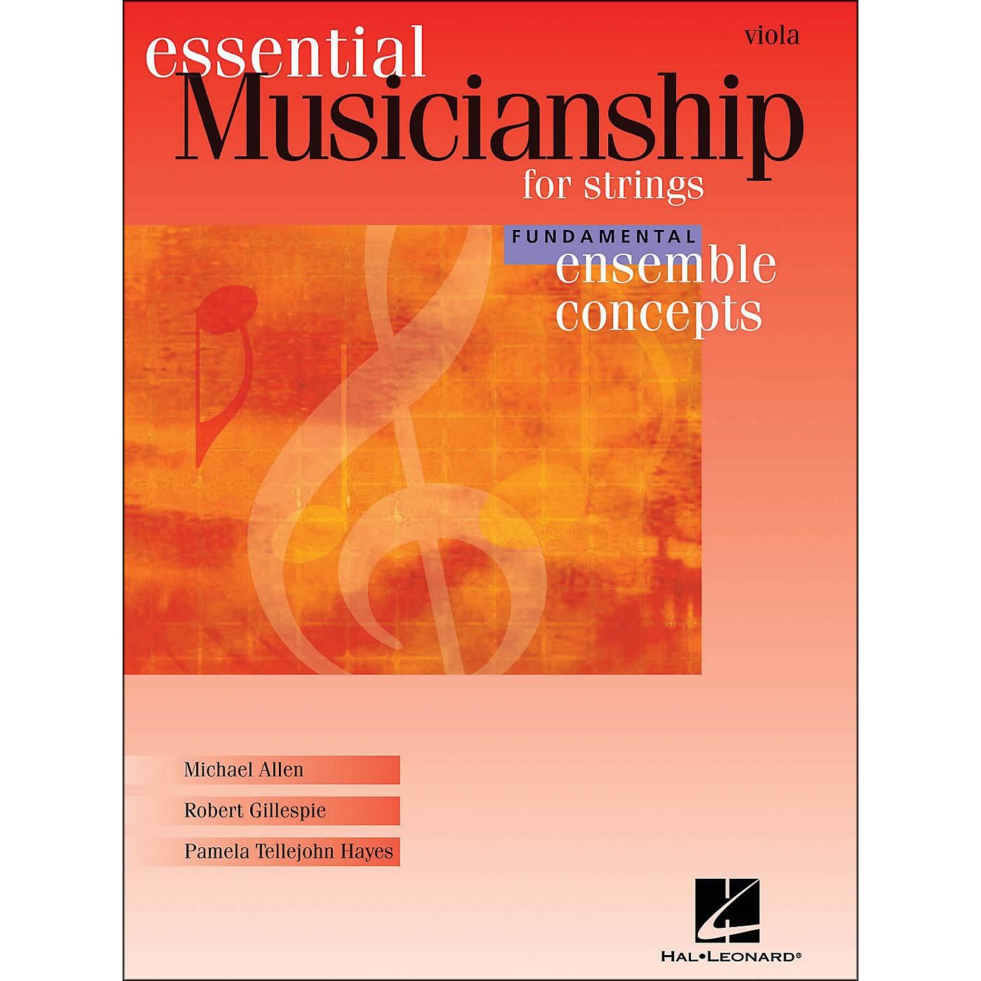 Hal Leonard Essential Musicianship for Strings - Ensemble Concepts Fundamental Viola thumbnail