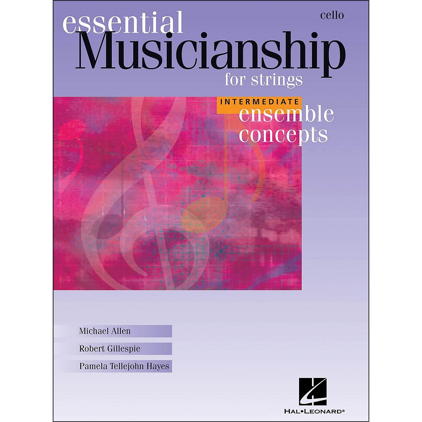Hal Leonard Essential Musicianship for Strings - Ensemble Concepts Intermediate Cello thumbnail