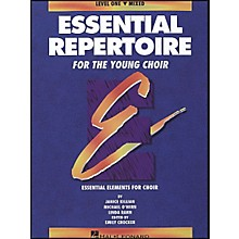 Hal Leonard Essential Repertoire for The Young Choir Level One (1) Mixed/Student