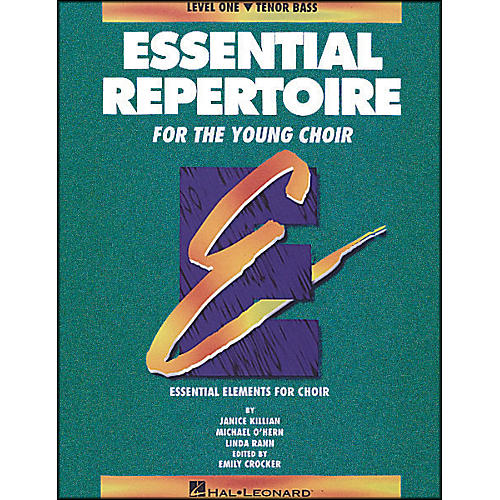 Hal Leonard Essential Repertoire for The Young Choir Level One (1) Tenor Bass/Student thumbnail