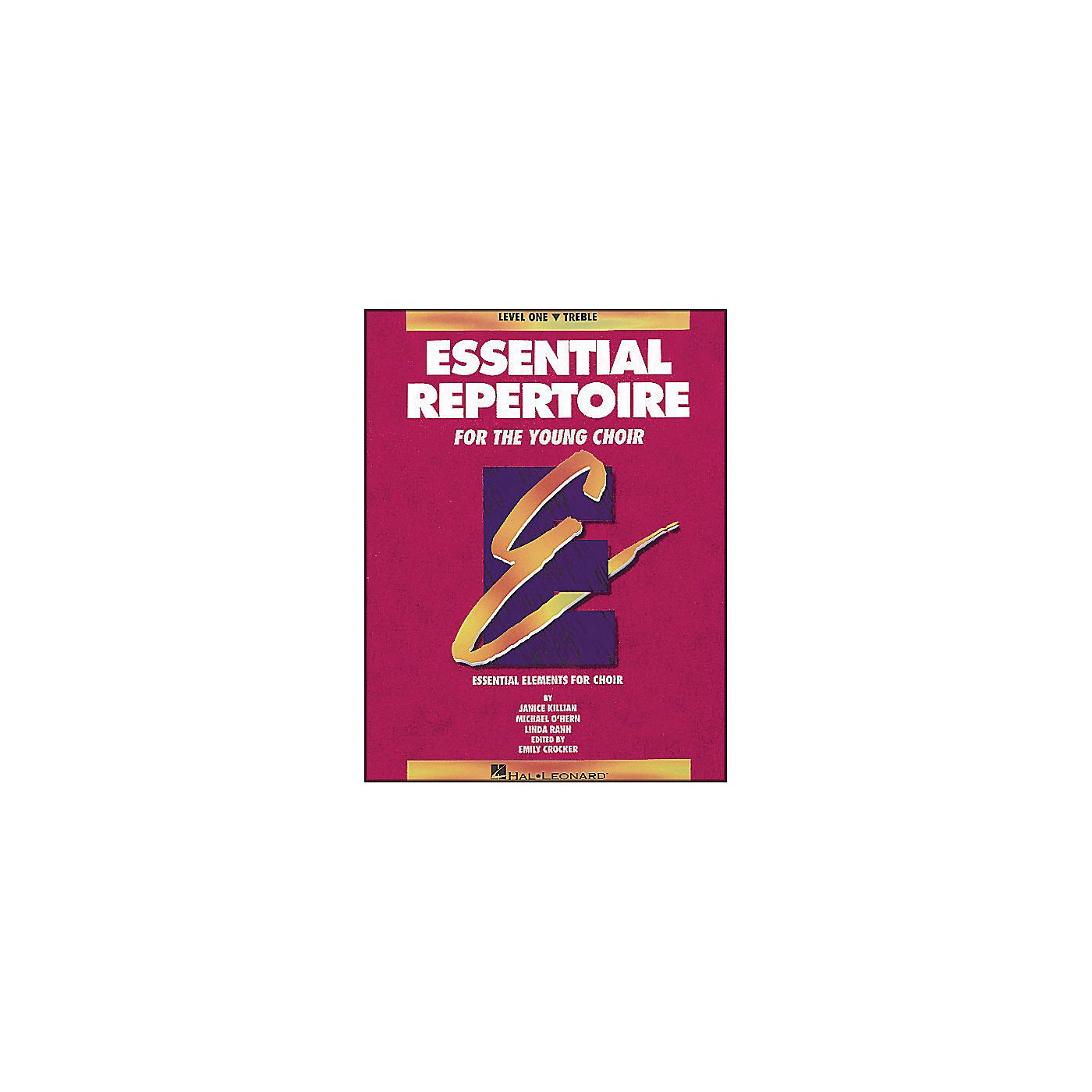 Hal Leonard Essential Repertoire for The Young Choir Level One (1) Treble/Student thumbnail