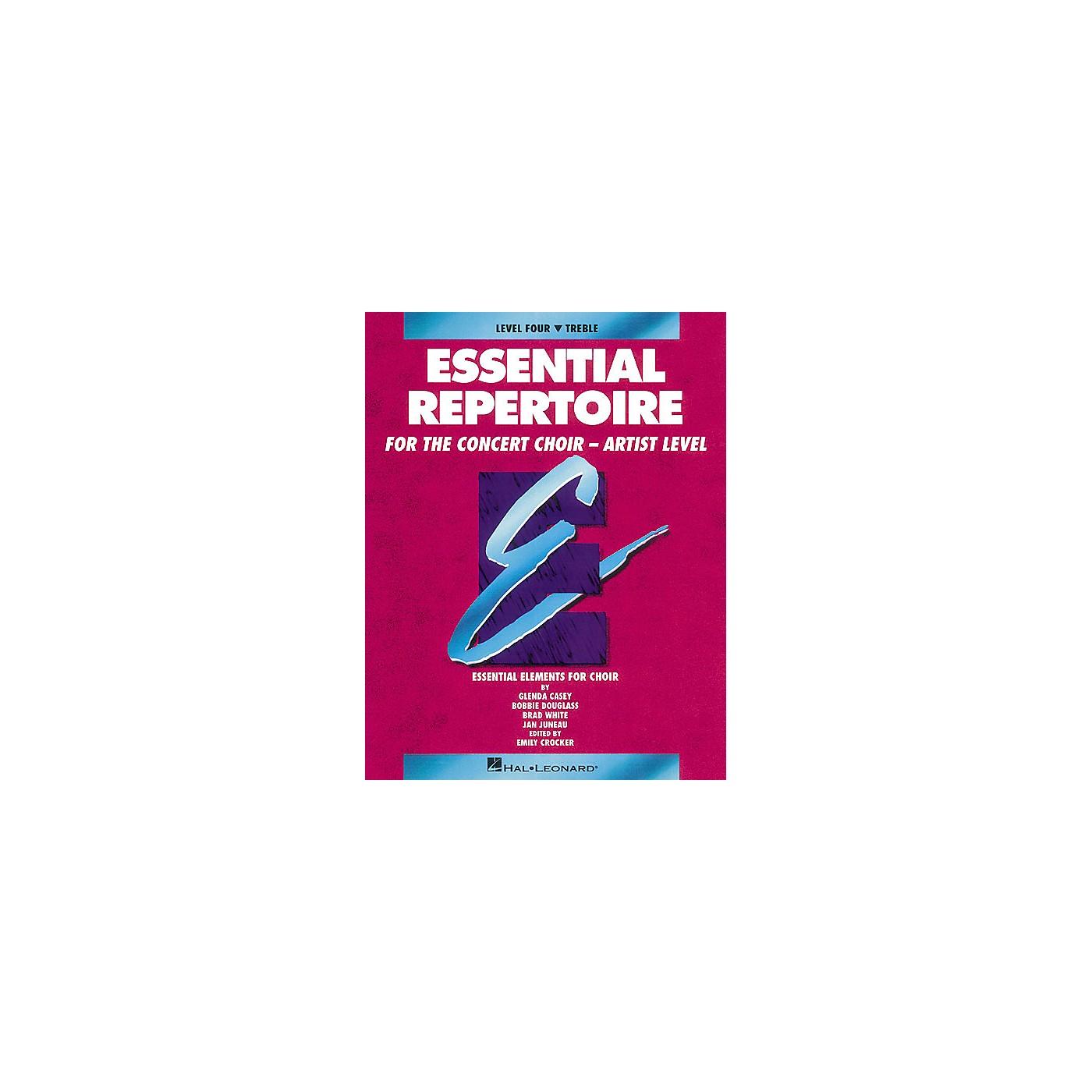Hal Leonard Essential Repertoire for the Concert Choir - Artist Level Treble Part-Learning CDs (2) by Glenda Casey thumbnail