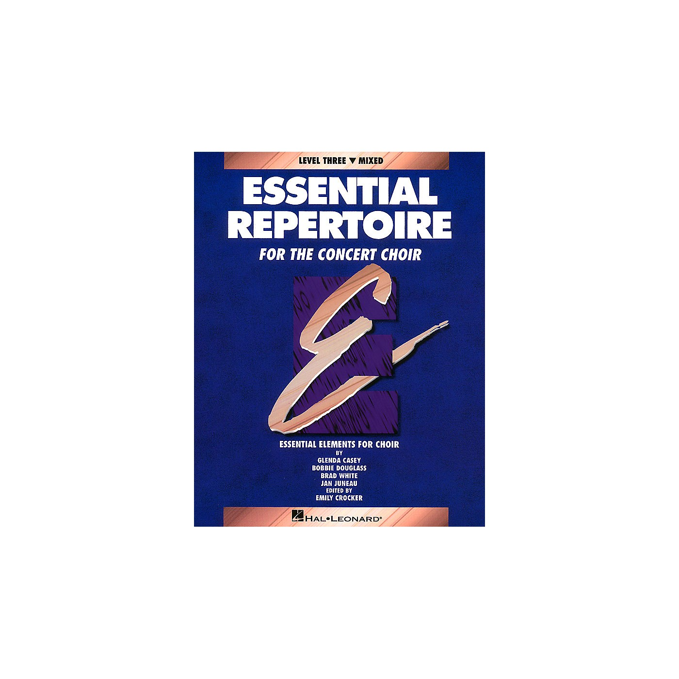 Hal Leonard Essential Repertoire for the Concert Choir Mixed/Student 10-Pak Composed by Glenda Casey thumbnail
