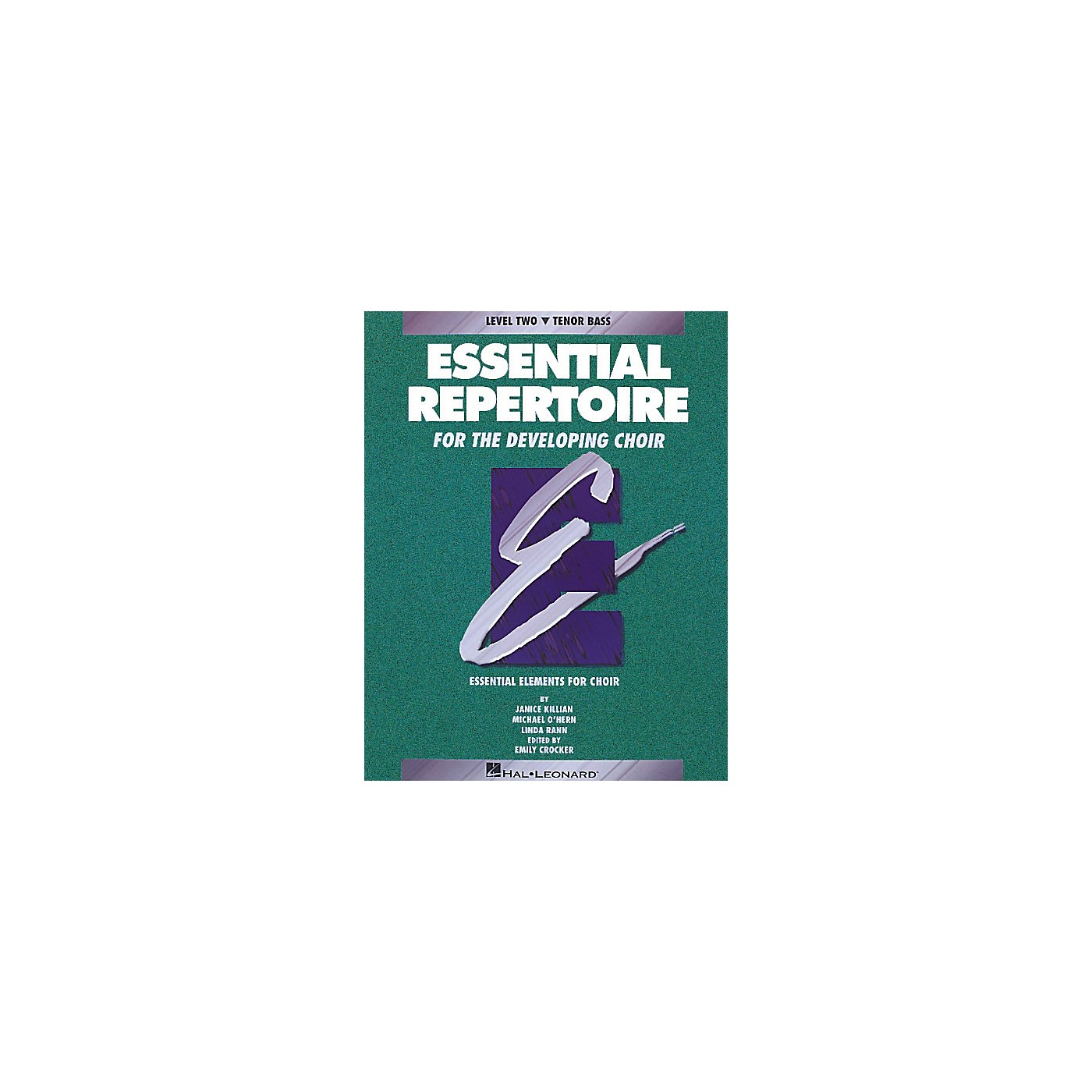 Hal Leonard Essential Repertoire for the Developing Choir Tenor Bass/Student 10-Pak Composed by Janice Killian thumbnail