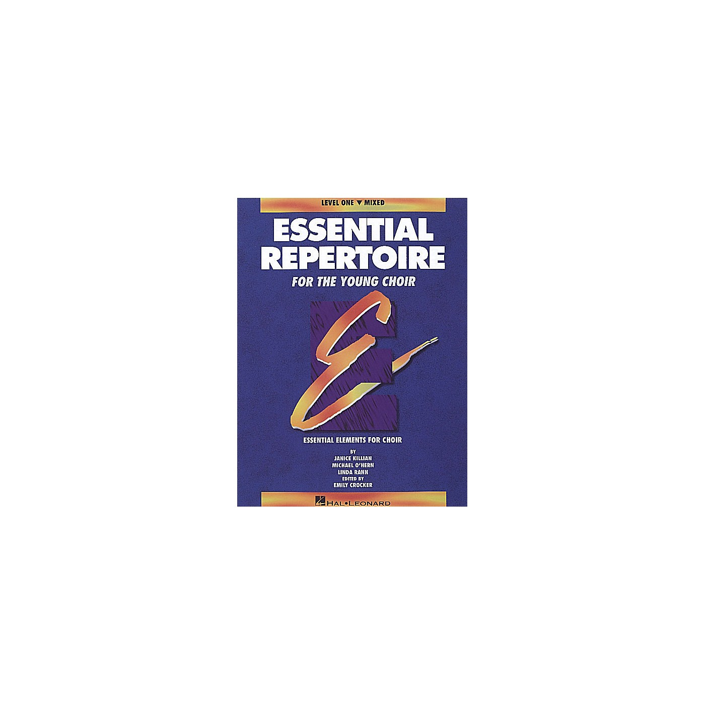 Hal Leonard Essential Repertoire for the Young Choir Mixed Part-Learning CDs(4) Composed by Janice Killian thumbnail