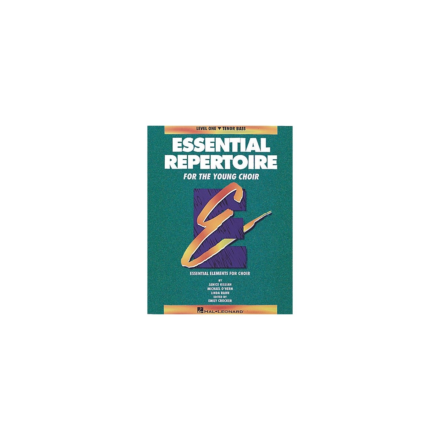 Hal Leonard Essential Repertoire for the Young Choir Tenor Bass/Student 10-Pak Composed by Janice Killian thumbnail