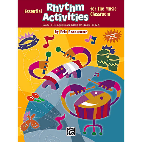Alfred Essential Rhythm Activities for the Music Classroom Book-thumbnail