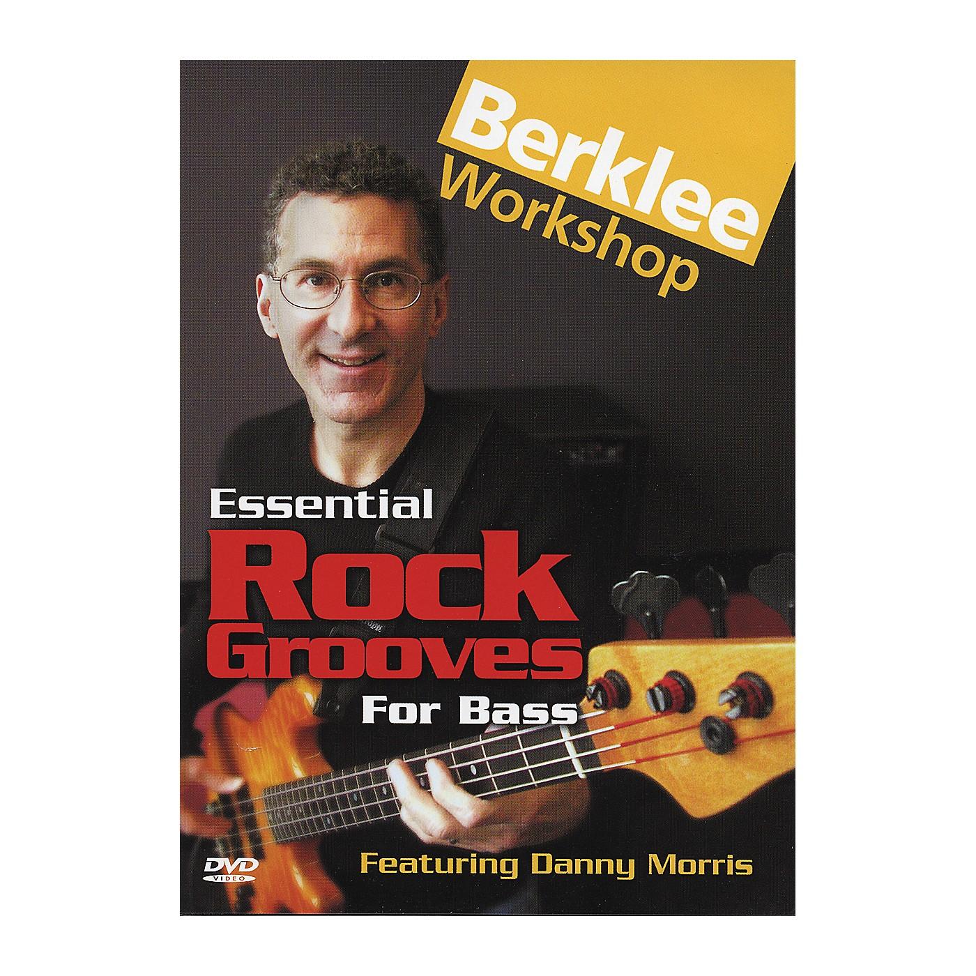 Berklee Press Essential Rock Grooves for Bass (DVD) thumbnail