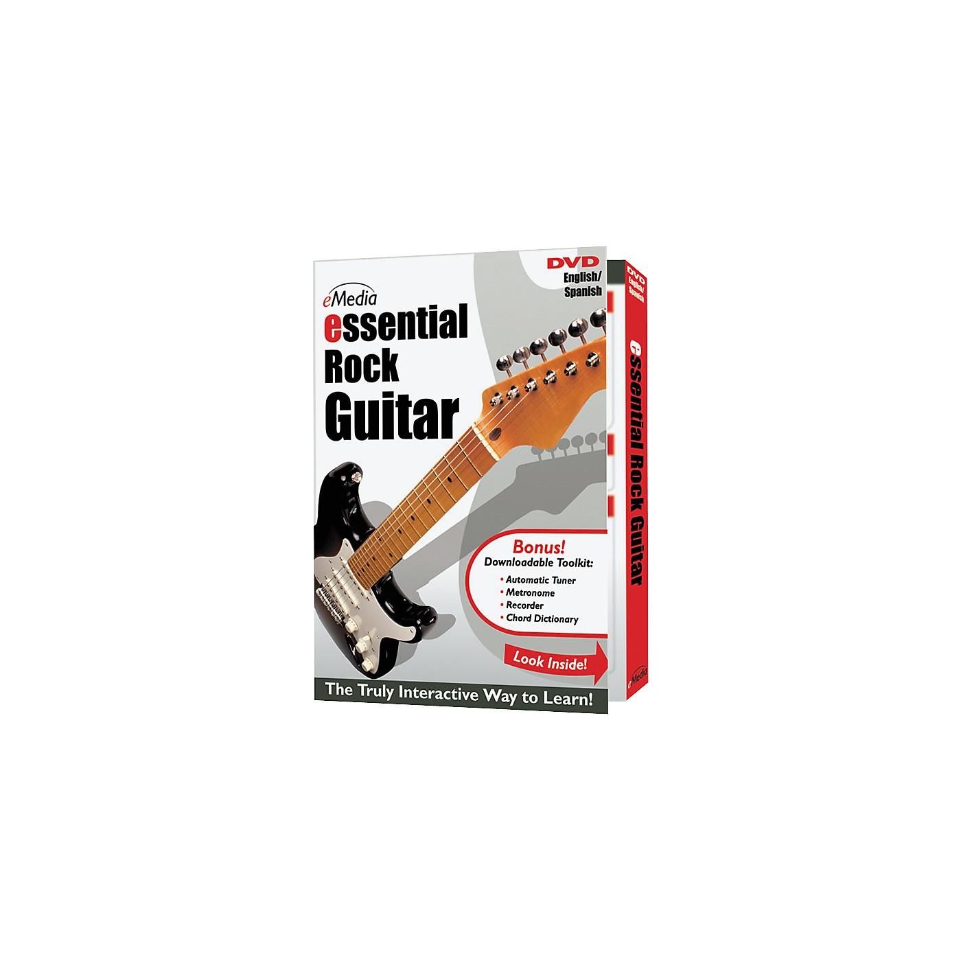 eMedia Essential Rock Guitar Instructional DVD thumbnail