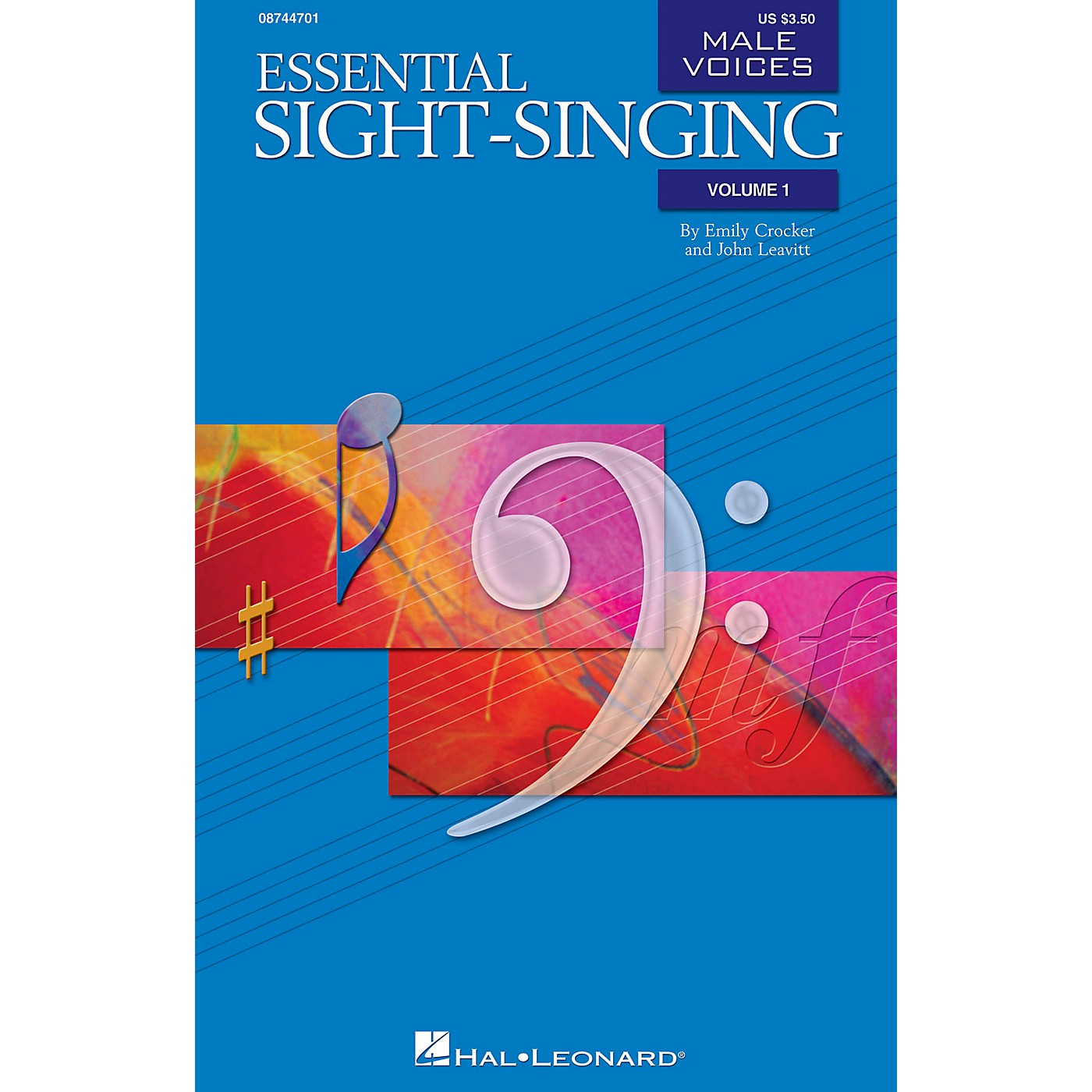 Hal Leonard Essential Sight-Singing Vol. 1 Male Voices (Male Voices Volume One Book) TB thumbnail