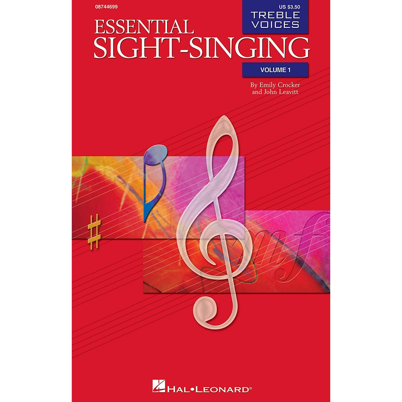 Hal Leonard Essential Sight-Singing Vol. 1 Treble Voices (Treble Voices Accompaniment CD Volume 1) CD ACCOMP thumbnail