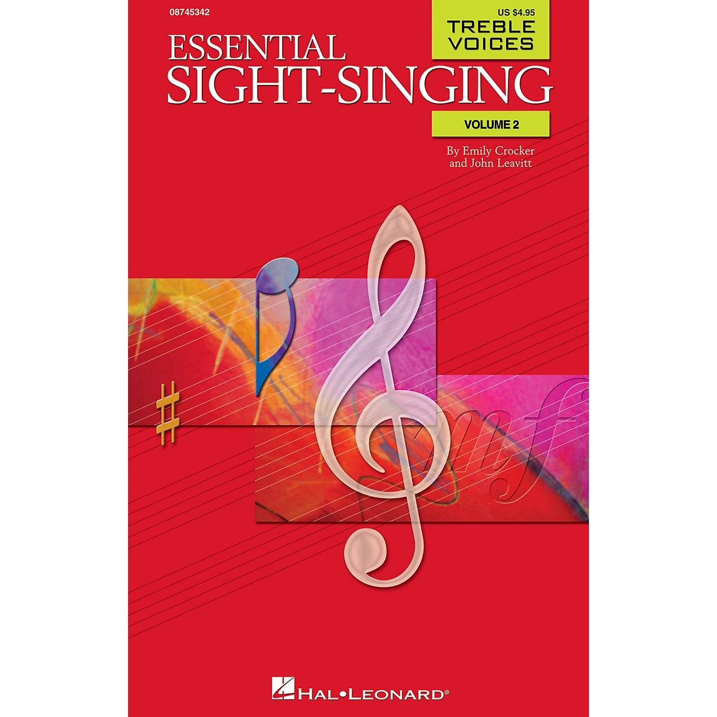 Hal Leonard Essential Sight-Singing Volume 2 Treble Voices SA composed by Emily Crocker thumbnail