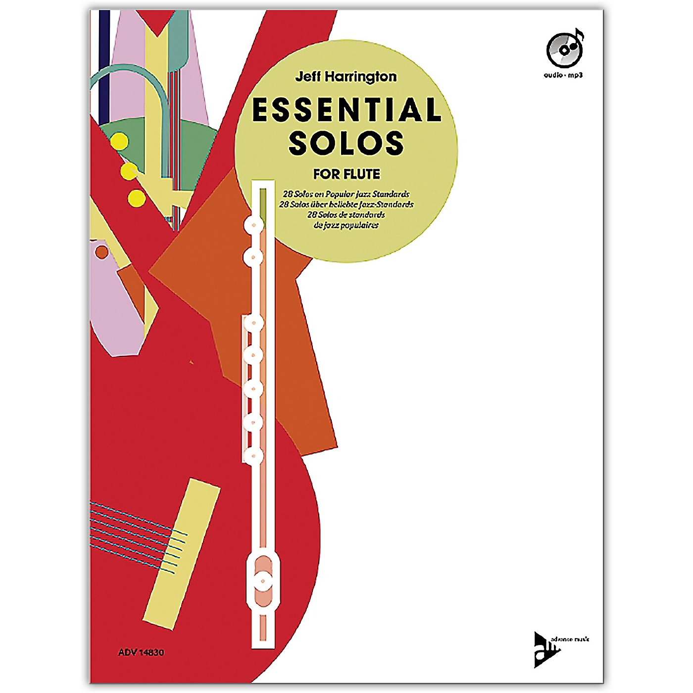ADVANCE MUSIC Essential Solos for Flute Book & CD thumbnail