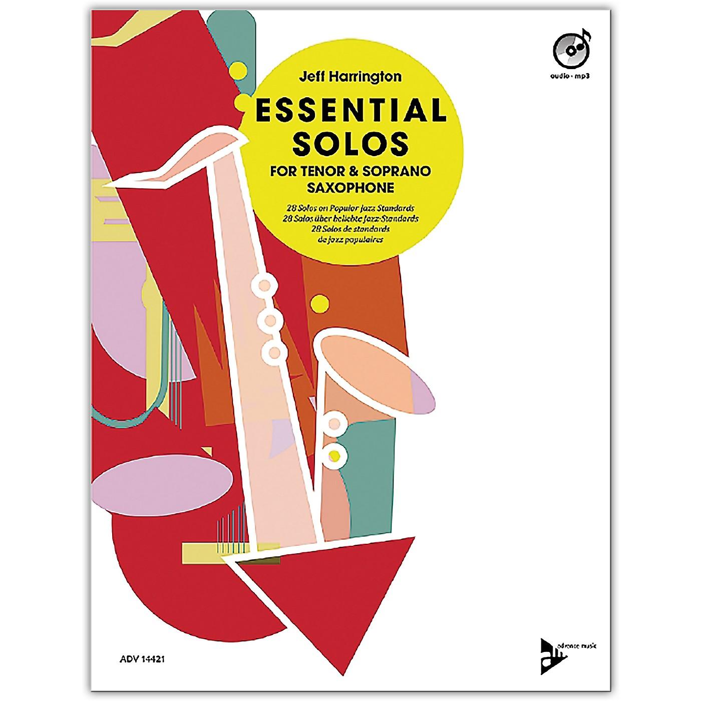 ADVANCE MUSIC Essential Solos for Tenor and Soprano Saxophone Tenor/Soprano Saxophone Book & CD thumbnail
