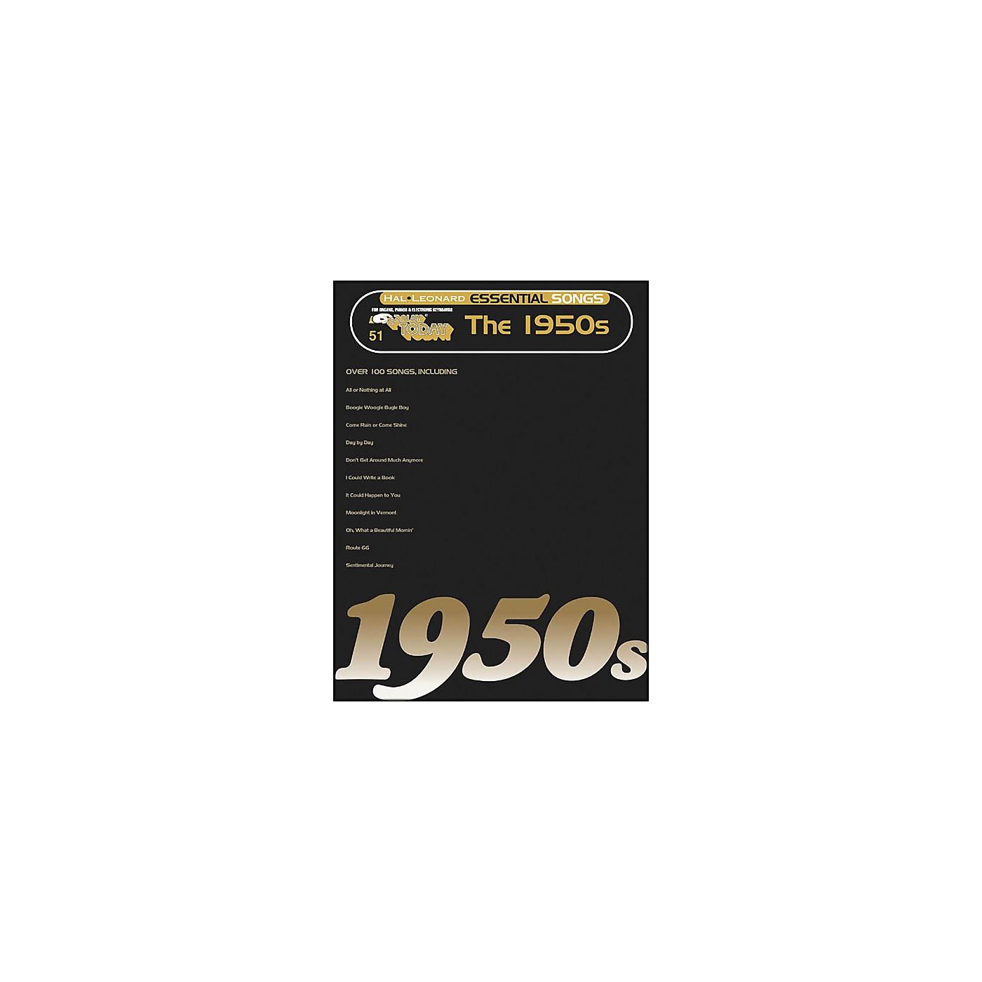 Hal Leonard Essential Songs - The 1950's E-Z Play 51 thumbnail