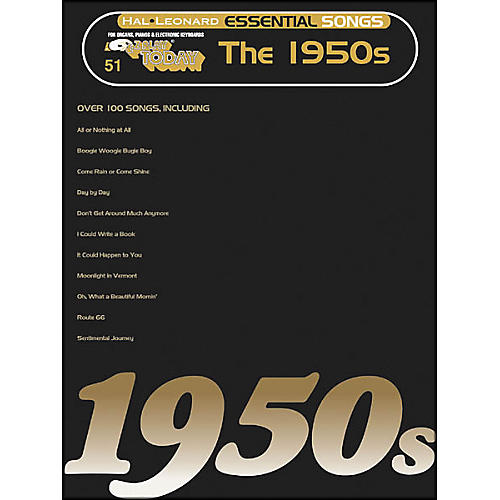 Hal Leonard Essential Songs - The 1950's E-Z Play 51-thumbnail