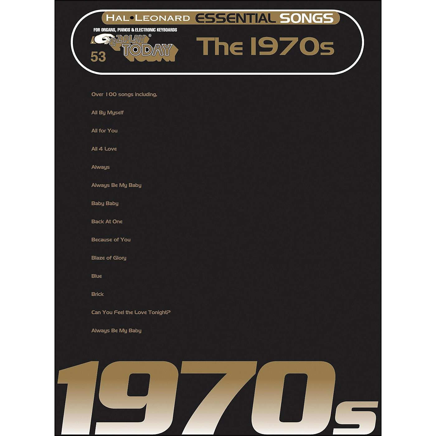 Hal Leonard Essential Songs - The 1970's E-Z Play 53 thumbnail