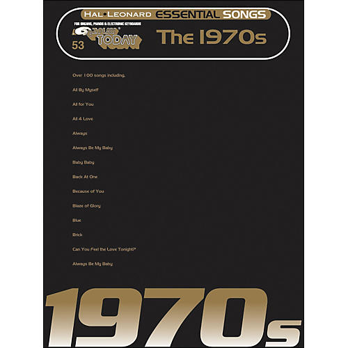 Hal Leonard Essential Songs - The 1970's E-Z Play 53 thumbnail
