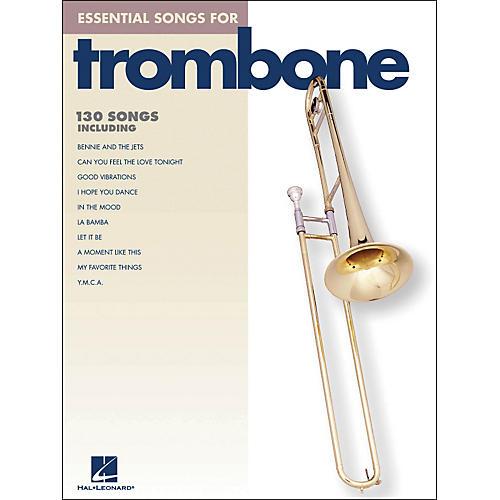 Hal Leonard Essential Songs For Trombone thumbnail