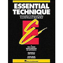 Hal Leonard Essential Technique For Baritone B.C. - Intermediate To Advanced Studies