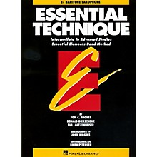 Hal Leonard Essential Technique For E Flat Baritone Saxophone - Intermediate To Advanced Studies