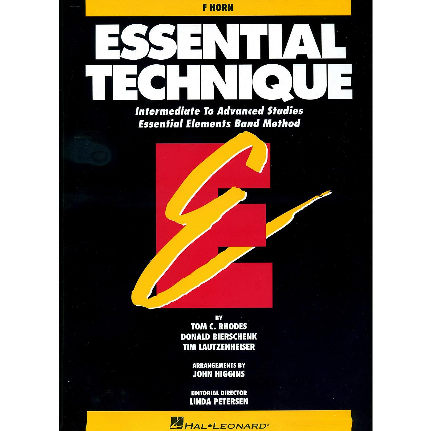Hal Leonard Essential Technique For French Horn - Intermediate To Advanced Studies thumbnail