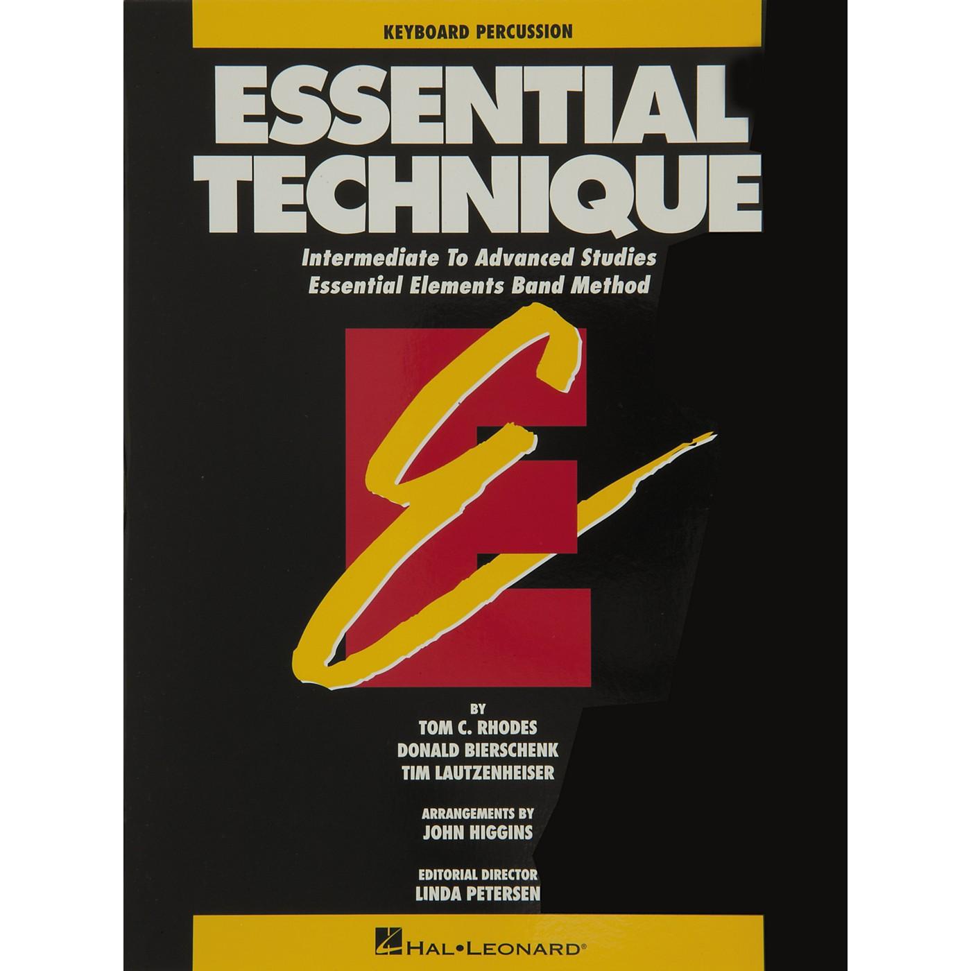 Hal Leonard Essential Technique Keyboard Percussion Intermediate To Advanced Studies thumbnail
