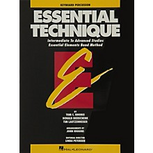 Hal Leonard Essential Technique Keyboard Percussion Intermediate To Advanced Studies