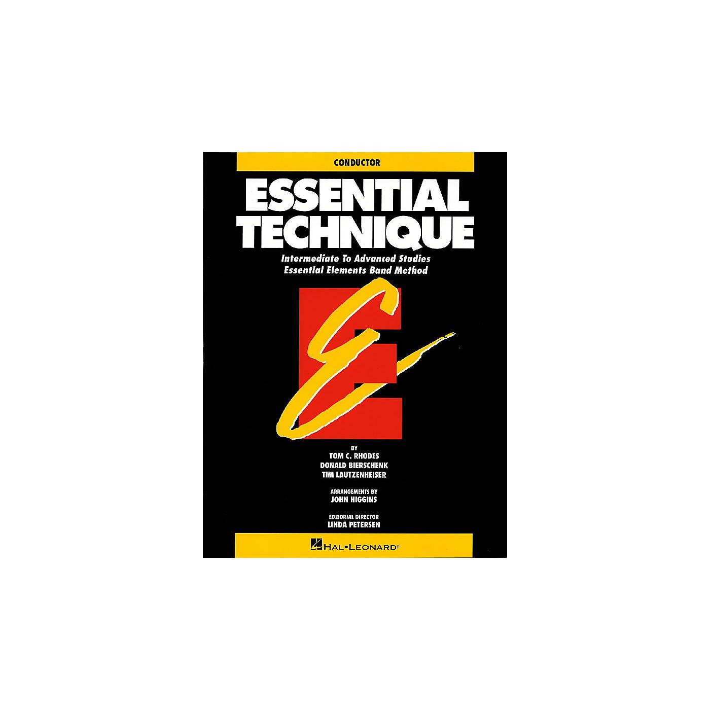 Hal Leonard Essential Technique (Original Series) (Conductor) Concert Band thumbnail