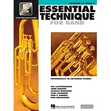 Hal Leonard Essential Technique for Band - Baritone B.C. 3 Book/Online Audio