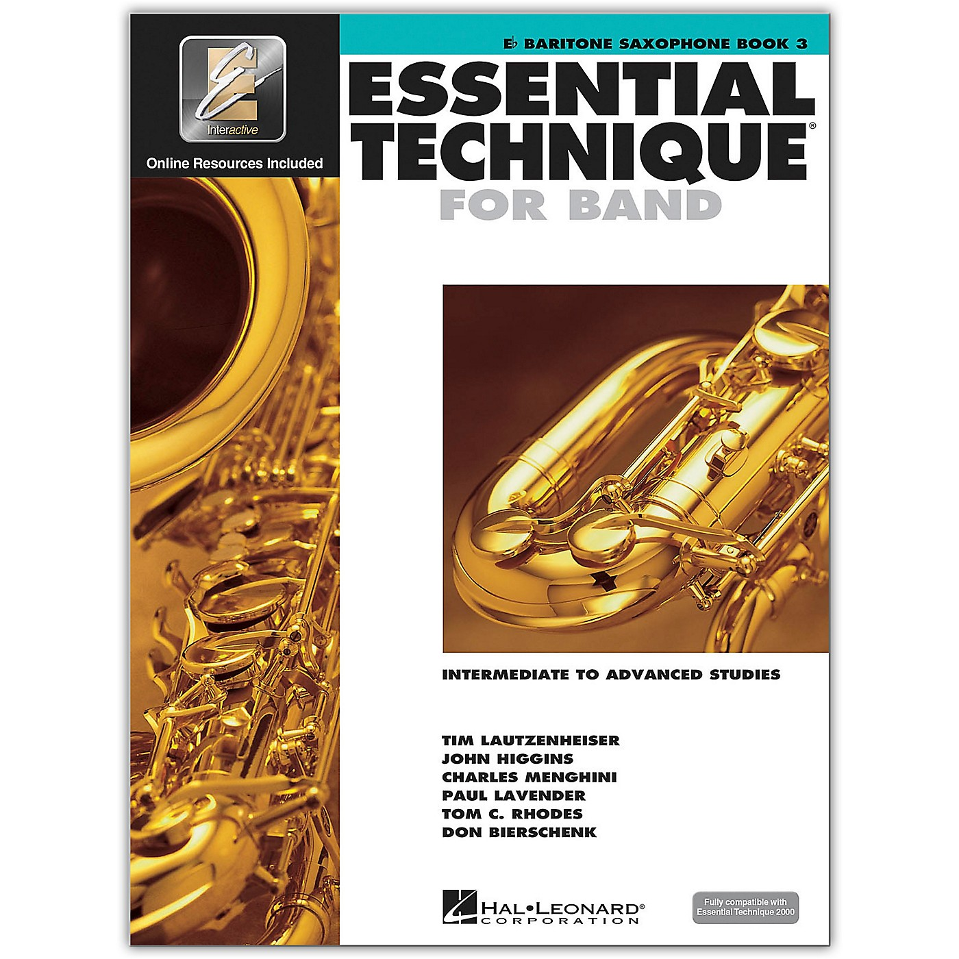 Hal Leonard Essential Technique for Band - Baritone Saxophone 3 Book/Online Audio thumbnail