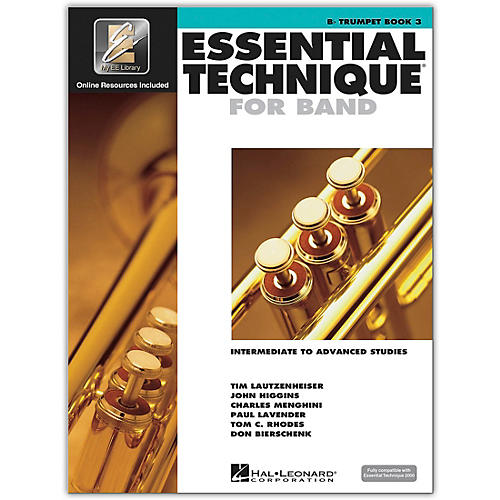 Hal Leonard Essential Technique for Band - Bb Trumpet (Book 3 with EEi)-thumbnail