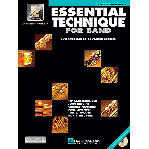 Hal Leonard Essential Technique for Band - Conductor Score (Book 3 with EEi and CD)-thumbnail