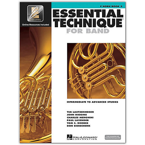 Hal Leonard Essential Technique for Band - French Horn 3 Book/Online Audio 3 thumbnail