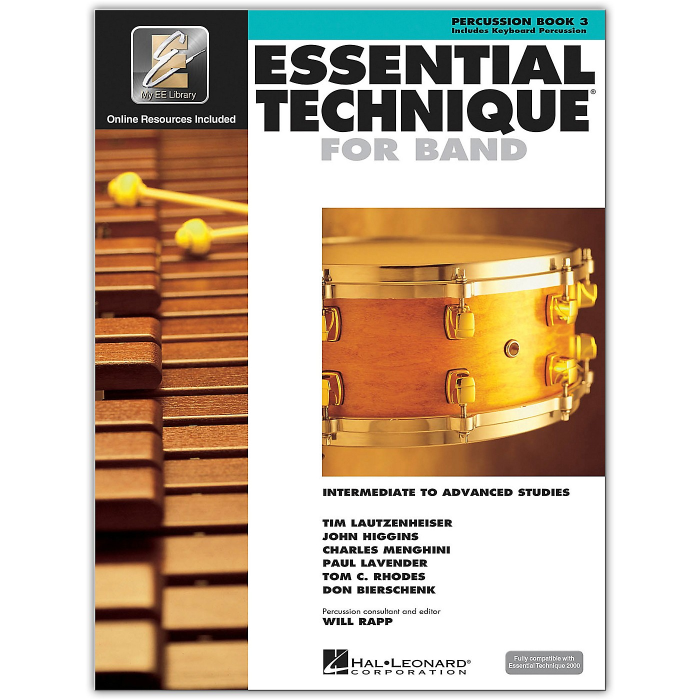 Hal Leonard Essential Technique for Band - Percussion and Keyboard Percussion 3 Book/Online Audio thumbnail