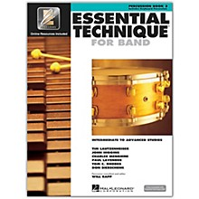 Hal Leonard Essential Technique for Band - Percussion and Keyboard Percussion 3 Book/Online Audio