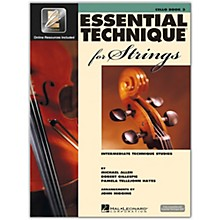 Hal Leonard Essential Technique for Strings - Cello (Book 3 with EEi)