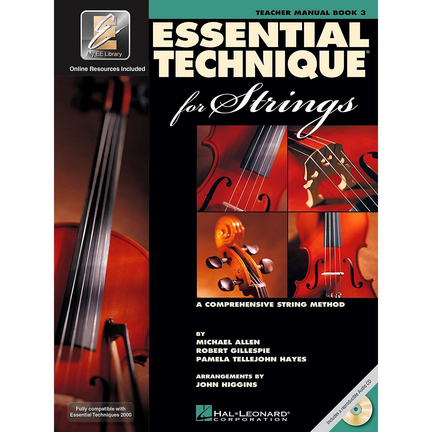 Hal Leonard Essential Technique for Strings - Teacher Manual (Book 3 with EEi and CD) thumbnail