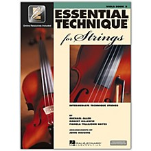 Hal Leonard Essential Technique for Strings - Viola 3 Book/Online Audio